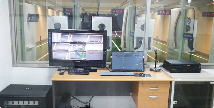 실내 사격장 통제시스템 (Indoor Shooting range Control System)